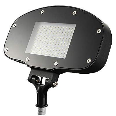 """Knuckle Mount LED Flood Lights - 80W ETL Listed 180° Adjustable 9040lm Outdoor Security LED FloodLights 5000K AC110-277V Waterproof IP65 for 1/2"""" Rainproof Outlet Boxes"""