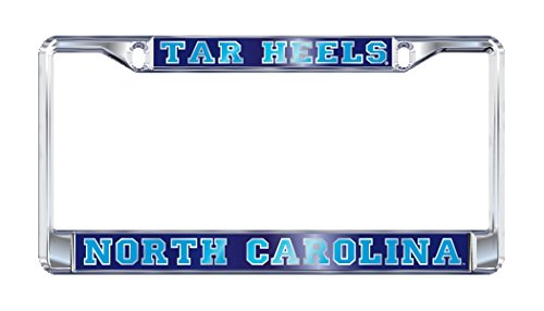 UNC NORTH CAROLINA Tarheels Chrome License Plate Tag Frame ()