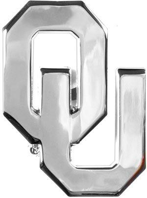- Oklahoma Sooners Auto Emblem - Metal! - New Design
