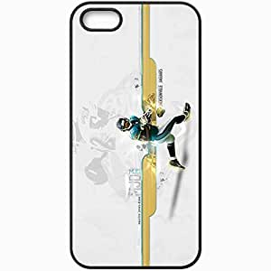 Personalized iPhone 5 5S Cell phone Case/Cover Skin 14481 Maurice Jones Drew by w4rrior Black