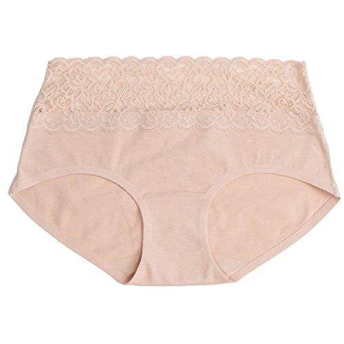Del Bikini Bragas De Mujer 6 Paquetes De Algodón Triangular Paquete Atractivo Del Cordón Del Algodón De La Cadera Nalgas De Una Pieza De Rastro A7