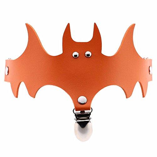 Halloween Garter Belt Adorn KIKOY Lady Adjustable Batwing Thigh Leg Stockings Suspender -