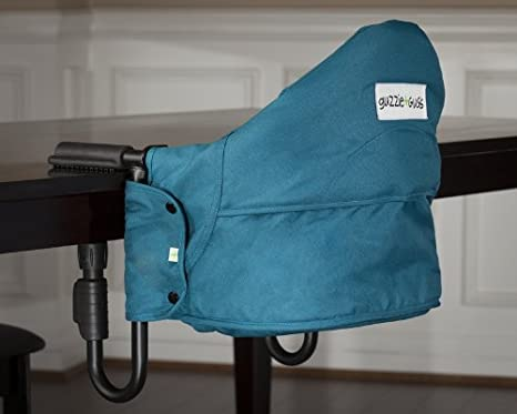 Amazon.com: guzzie + Guss G + G201 Perch mesa silla, Aqua: Baby