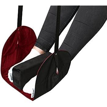 Folding Travel Foot Rest for Long Haul Flights. With Luxury Memory Foam Foot Pillow.  sc 1 st  Amazon.com & Amazon.com : Portable Footrest Navy Blue : Portable Footstool ... islam-shia.org