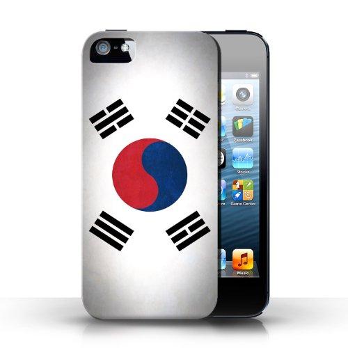 Etui / Coque pour Apple iPhone 5/5S / Corée/coréen conception / Collection de Drapeau