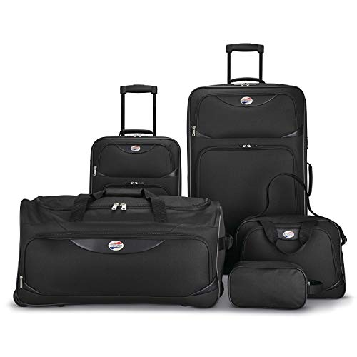 American Tourister 5-Piece Softs...