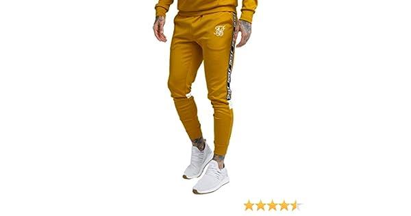 Siksilk Cuffed Cropped Poly Pantalón Hombre - sintético Talla: XXL ...