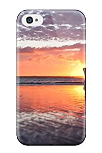 Hot ZiXOIlT10688PXKJU Case Cover Protector For Iphone 4/4s- Sunset Photography