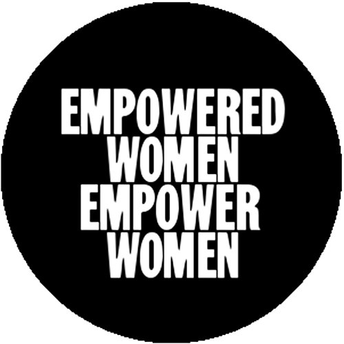 Good-Looking Corpse button badges and stickers Button Pin Empowered Women Empower Feminist Feminism Solidarity (Empowered Woman Costume)