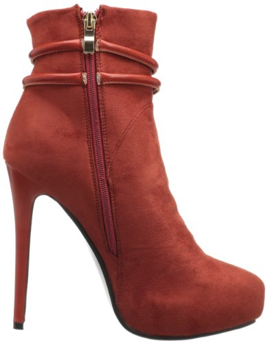 Stiefeletten WHOA Cinnamon Rot GIRL Plateau by Luichiny vPw6q