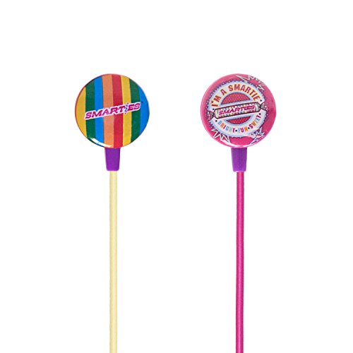 iHip SMARTIES Candy Stereo Earbud with Built-in Mic for Appl