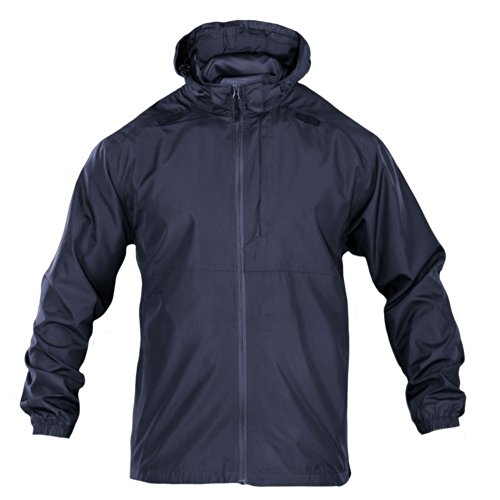 5.11 Tactical Men's Packable Operator Jacket, Foldable, Water and Wind Resistant, Style 48169 ()