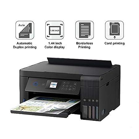 TANCEQI Impresora Multifunción Color Inalámbrica(Wi-Fi Directo ...