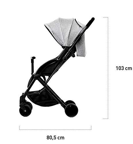 Kinderkraft Passeggino Ultraleggero PILOT, Compatto, Regolabile, Pieghevole, Accessori, per Bambini, Rosa 6