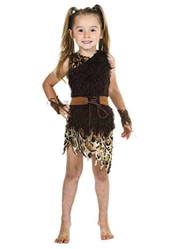 Toddler Cavegirl Costume 4T