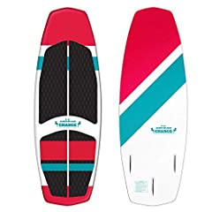 The Charge is a full foam wake surf board and a great and economical way for the whole family to enjoy the wake! Quick to accelerate on the wave, it comes with a removable 3-fin setup for agile turning and control. Rounding out the board's ca...
