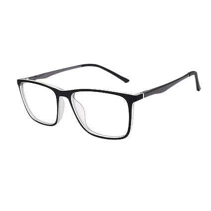 Blue Light Blocking Eyeglasses Computer Game Eyewear Aluminum Magnesium Legs Unisex Goggle Tr90 Frame Anti Radiation Glasses Men's Glasses