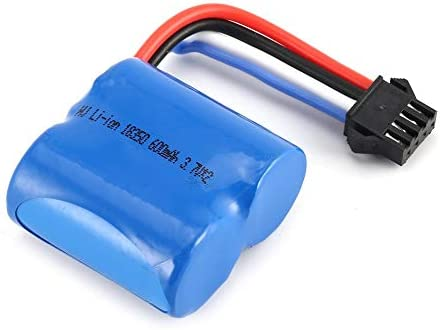 Batterie de Li ion 7.4V 600mAh 18350 avec la prise SM 4P +