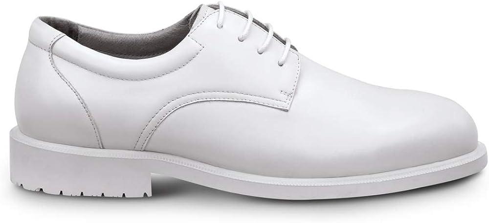 Men's Vintage Clothing | Retro Clothing for Men SR Max Arlington Mens Dress Style Soft Toe Slip Resistant Work Shoe  AT vintagedancer.com