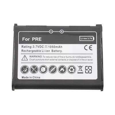 Standard Li-Ion Battery for Palm Pixi, Pixi Plus/ Pre, Pre Plus/ Treo 800w/ Centro 685, 690 (Palm Centro 690)