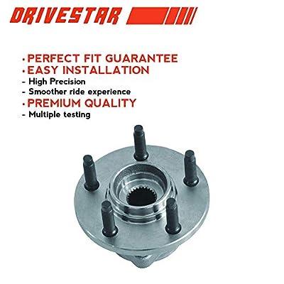 DRIVESTAR 513100 Front Wheel Hub & Bearing for Continental Sable Ford Taurus 5-Lug: Automotive
