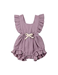 2d5b4eb0a Baby Girls One-Piece Rompers