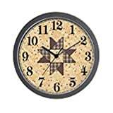 CafePress – Quilter – Unique Decorative 10″ Wall Clock