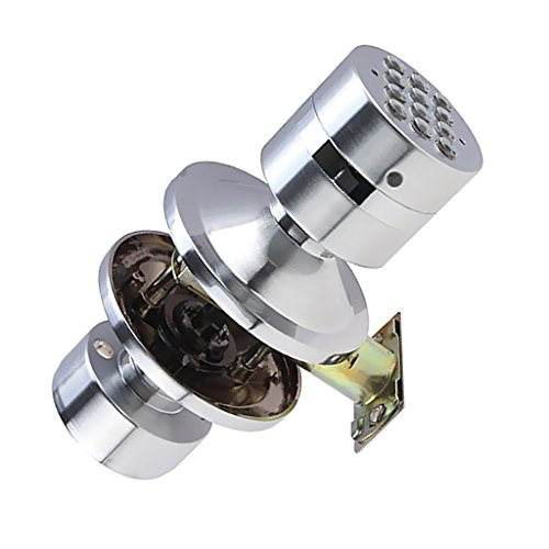 MonkeyJack Heavy Duty Door Knob Handle Passageway-lock Home Safety Code Digital Electronic Locker by MonkeyJack (Image #10)
