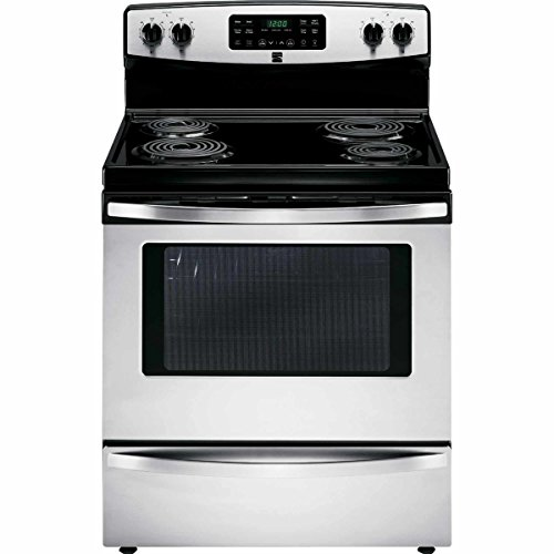 Kenmore 94153 5.4 cu. ft. Self-Cleaning Electric Range with Convection Oven, Stainless Steel -