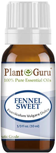 Fennel Sweet Essential Oil 10 ml 100% Pure Undiluted Therapeutic Grade.
