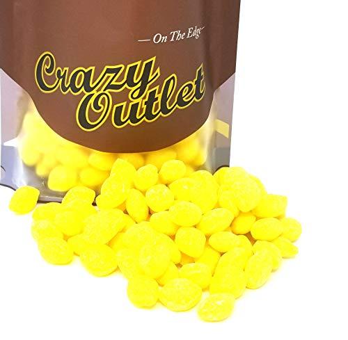 - CrazyOutlet Pack - Primrose Sugar Sanded Lemon Drops Hard Candy, Old Fashioned Candies, Bulk Pack, 2 lbs