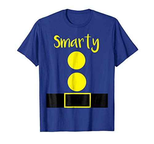 Smarty Dwarf Funny Halloween Costume Gift -