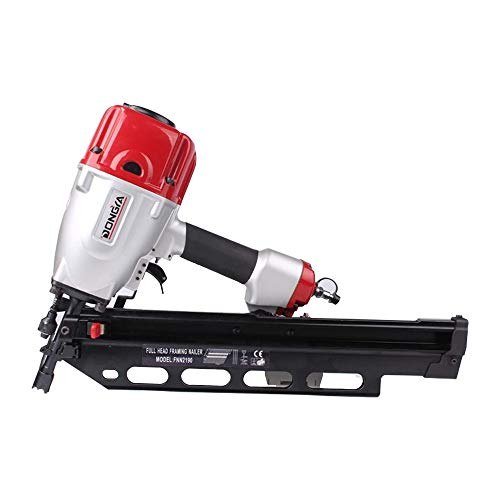Union Pneumatics UP AL83A2 21° Full Round Head Framing Strip Nailer 3-1/2 Inch Replaces Porter Cable FR350B, Hitachi NR90AES1 & NR90AE(S), and Makita AN923