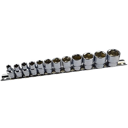 """Price comparison product image 12pc Imperial SAE AF 1 / 4"""" - 7 / 8"""" Sockets 6 Point With Rail Shallow 3 / 8"""" dr AT941"""