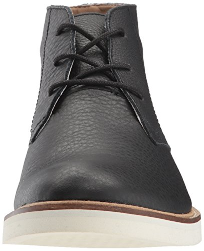 Lacoste Men's Sherbrooke Boots Black/Off White Leather clearance under $60 uXkpsdtW