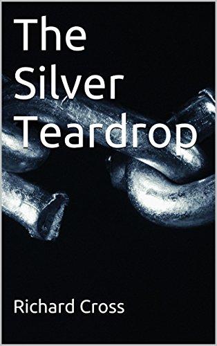 Silver Teardrop Cross - The Silver Teardrop