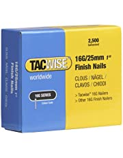 Tacwise 0666 nagels verzinkt 16G/25mm (2.500 stuks)