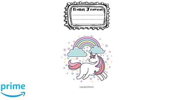 Bullet Journal: A4 - 156 paginas - unicornio - unicornios ...