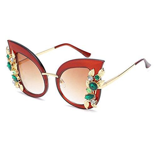 gato con Inlefen C3 de estilo Gafas tamaño sol gafas de de de gran Gafas ojo sol mujer wFFYqx4nr