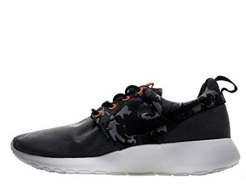dark Roshe anthracite black Nike Print One Laufschuhe GS 40 grey cool grey Xw6qvd