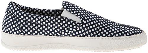 Dsquared2 Mens Tessuto Sn Fashion Sneaker Navy Bianco