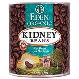 Eden Foods Organic Red Kidney Bean, 108 Ounce -- 6 per case.