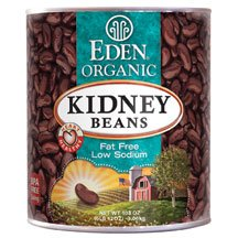 Eden Foods Organic Red Kidney Bean, 108 Ounce -- 6 per case. by Eden Foods