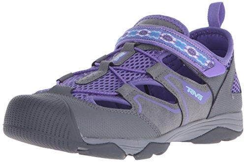 Teva Rollick Outdoor Shoe Toddler/ Kid/Big Kid Grey/Purple-T