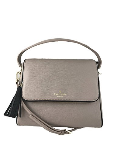 Kate Spade New York Chester Street Miri Pebbled Leather Bag in Almond/Black by Kate Spade New York