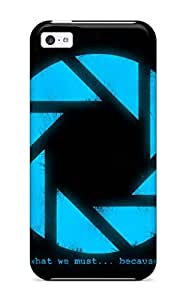 New Iphone 5c Case Cover Casing(portal 2)