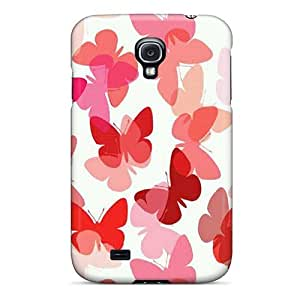 Samsung Galaxy S4 BWH9980CGFd Allow Personal Design Realistic Butterfly Skin Protective Hard Phone Cases -JamieBratt