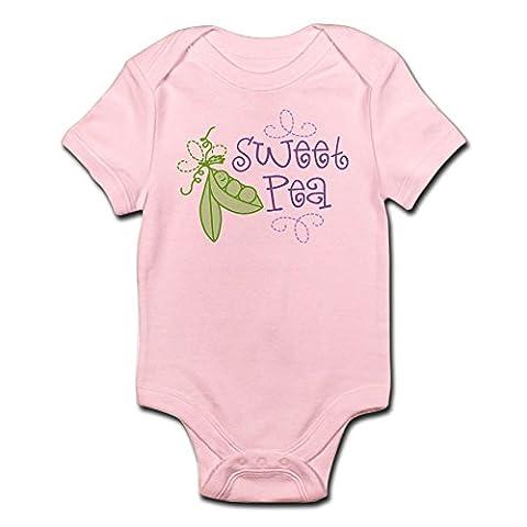 CafePress - Sweet Pea Infant Bodysuit - Cute Infant Bodysuit Baby Romper - Sweet Pea Baby Shower