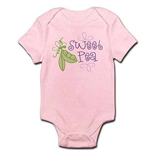 CafePress Sweet Pea Infant Bodysuit - Cute Infant Bodysuit Baby Romper