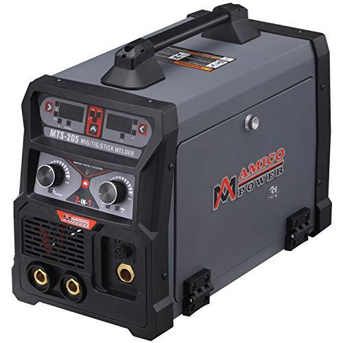 MTS-205 205 Amp MIG/TIG-Torch/Stick Arc Combo Welder